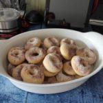 Fettreduzierte Mini-Donuts aus dem Backofen